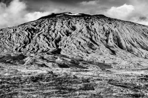 Erloschener Vulkan Island