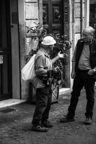 Glockenhändler in Rom